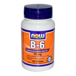 NOW. B-6 50 мг - 100 таб
